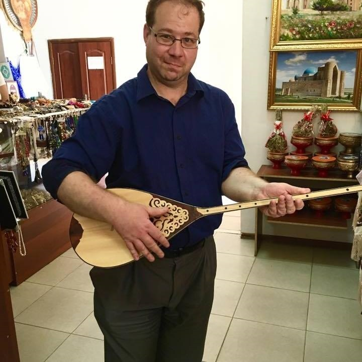 David in Turkistan, Kazakhstan, Fall 2016.